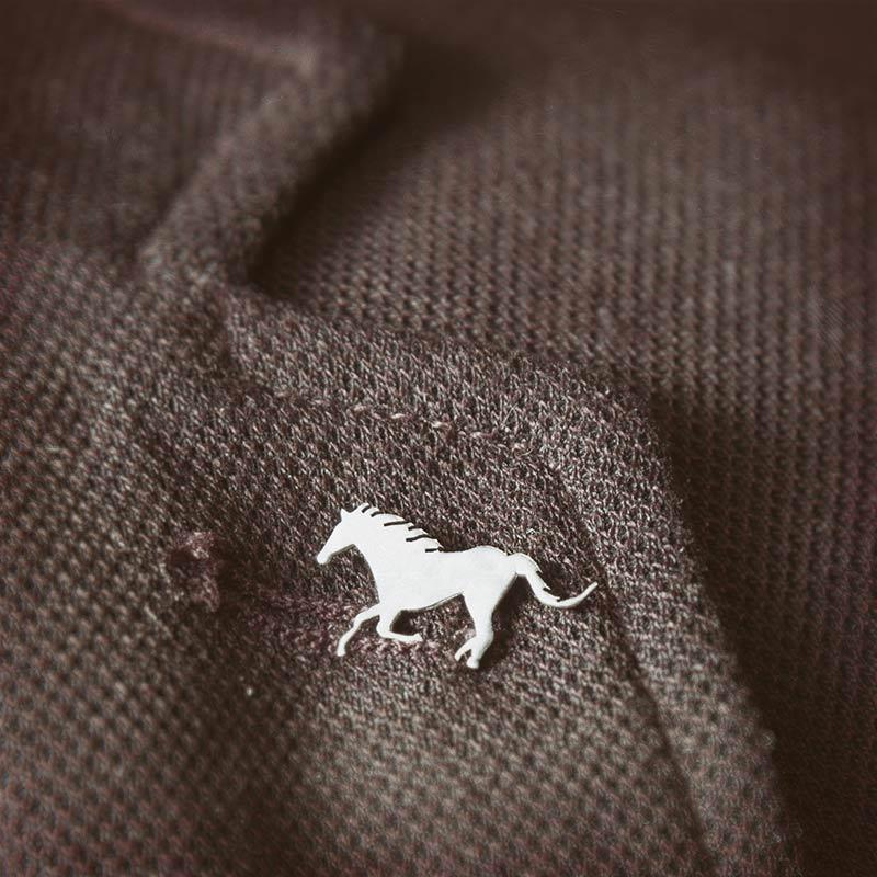 سنجاق سينه مردانه اسب