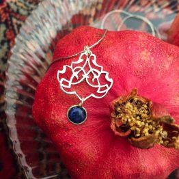 مدال ترکیب نقره و سنگ