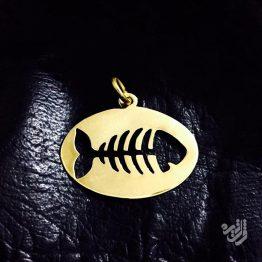 مدال طرح تیغ ماهی