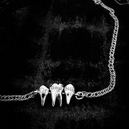گردنبند دو دندان دو ریشه و یک دندان یک ریشه