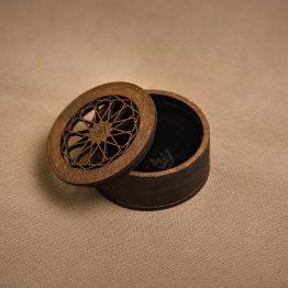 جعبه جواهر چوبی کد 1