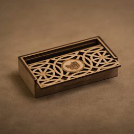 جعبه جواهر چوبی کد 2