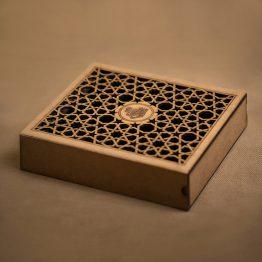 جعبه جواهر چوبی کد 3