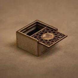 جعبه جواهر چوبی کد 5