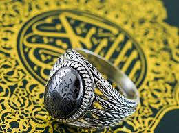 انگشتر نقره برای مردان